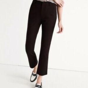 ⚓️GUC J. Crew Teddie Black ankle pants size 12⚓️